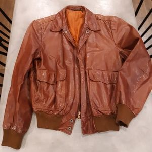 Other - Vintage leather jacket